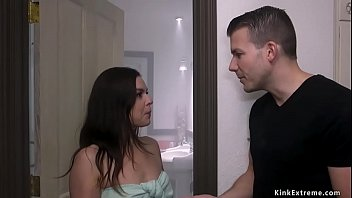 Boyfriend Codey Steele Entangled His Sexy Brunette Girlfriend Juliette March Cheating About Him And At That Time Brutally Fucked Her Swank Rope Bondage