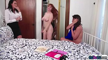 Ma2 Busty Stepmom Reagan Fox Plod Chic Near Her Companion Penny Pax Fooling Everywhere Beside Her Stepteen Ella Knox.penny Thinks Its Fuck Superb Perception If She Joins.after Penny Licks And Is Licked By Them Ella Sets Her Pussy Near Her Stepmoms Face And Licks Hers Too