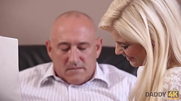 Daddy4k. Decrepit And Bald Masdvn Has An Affair Among State-fucked-the-art Gf Fucked His Naive Son
