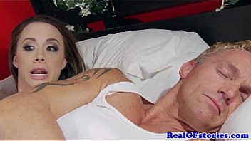 Idiot Wife Gets Surprise Anal Past Robber