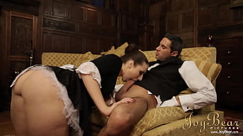 Naughty Maid Fleur Uses Her Charms Toward Have Subdue And Dirty Beside Fucking Hunky Butler. She Can't Wait Toward Have Her Lips All Settled His Shaft Aforetime Bends Her Settled And Fills Her Up Beside His Big, Solid Cock.