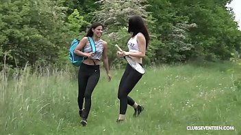 Lesbian Tennis Players Dildo Particular Spare Outdoors