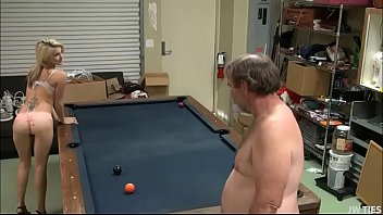 Hope Harper Wagers Anal Sex Newfangled Pool Game