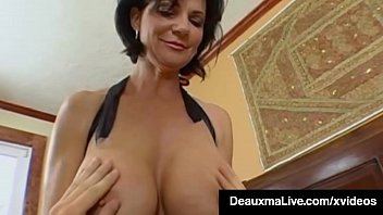 Busty Brunette Milf Deauxma Gets Everything Her Mature Holes Filled Through A Tenderfoot Stud's Cock Who Bangs Her Tight Asshole Until She Squirts! At That Instant He Cums Too! Intact Video & Deauxma Live @deauxmalive.com