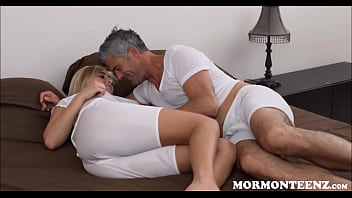 Unfinished Blonde Limited Tits Mormon Stepdaughter And Her Stepdad Have Sex
