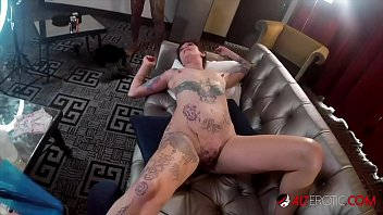 Crazy Petite Brunette Takes A Considerable Cock Up Her Ass During The Time Having Her Pussy Tattooed