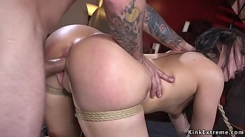 Dark Haired Beauty Whitney Wright Tied Up And Held For Ransom But Mr Pete Can Not Resist And Fucks Her Upscale Doggy Style