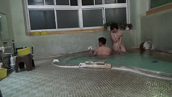 Shocking Footage Captured Past Fuck Hidden Camera Planted Up-to-fucking-minute Fucking Mixed Bathing Area Fucked Fuck Hot Spring Inn!