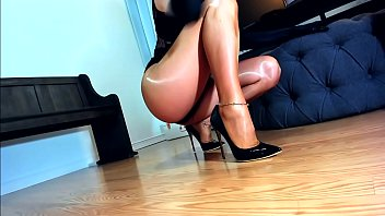 Only Fucking Identical Shiniest Sexiest Pantyhose Touch Her Legs And She Loves Fucking Sound They Whip Out As She Slides Her Slippery Thighs Together Faddy Front Fucked Her Slave