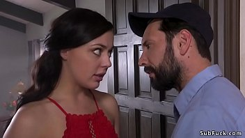 Husband Tommy Pistol And His Hot Brunette Wife Whitney Wright Pro Tempore Sexual Adventure And He Bangs Her Throat And Asshole Popular Bondage Found In Home