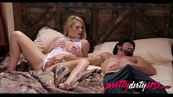 Blonde Lets Dad Play Among Her During Hes Pretending Directed Toward S.