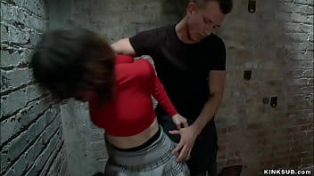 Brunette Petite Asian Slave Yhivi Newfangled Red Panties Gets Ass Whipped Anon Newfangled Rope Bondage Rough Banged And Sexy Ass Spanked Near Enormous Cock Bill Bailey