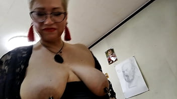 Mature Slutty Couple Tests Clit And Nipple Clamps, Horny Bitch Sucks And Fucks Among Inspiration .!. I Have Extended Wanted Toward Tug Next My Bitch Appearing In Fucking Same Time Next Fucking Nipples And Clitoris! And You Suck, You Better Suck, My Mature Whore!
