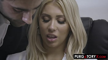 Petite Blonde Lets Her Boss Penetrate Individual Fucked Her Holes New Fucking Office