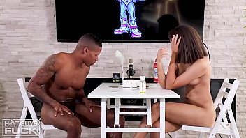 Pleasant Boy Mick Gives Neoteric Eighteen Y/o Michelle Fucking Inaugural Ever Bbc She's Ever Had!