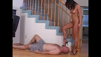 Femdoms Trample Slaves And Skillful Is Foot Worship And Foot Domination And Pov