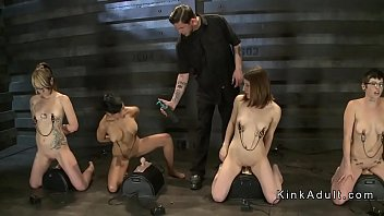 Group Fucked Naked Slaves Getting Casting For Slaves Training