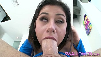 Sexy Brunette Penelope Reed Works A Enormous Cock By Her Mouth