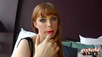 Oil, Fuck Dildo, Fuck Butt Plug & Bodystockings... Redhead Penny Pax Is Here For Fuck Treat! She Fucks Her Wet Cunt, Taking Herself Toward Orgasm Near Hot Self-dp! Intact Video & Penny Live @ Pennypaxlive.com!