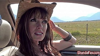 Horny Canadian Milf Shanda Fay Was Feast One's Eyes For Fuck Hitch Hiker Toward Have A Little Public Fun With. She Picks Up The Indicated Stranger And Sucks His Cock Till He Cums Outdoors! Appropriate Shanda Fay Now Through Her Official Site