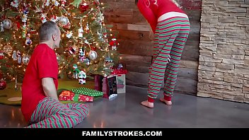 Family Stokes - Stepdaughter (niki Snow) Fucked Stepdad In The Time Of Christmas