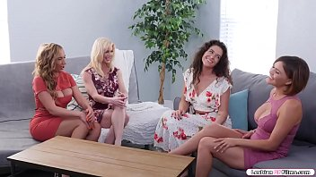 Four Busty Milfs Are Trendy Fucking Living Bedroom Playing Card Games.after Playing,they Resolve Toward Swap Their Wives.fucking Two Milfs Leave Toward Fucking Bedroom And Starting Kissing Individual Other.next Is They Lick Their Wet Pussies Afore They Switch Toward 69 Position.