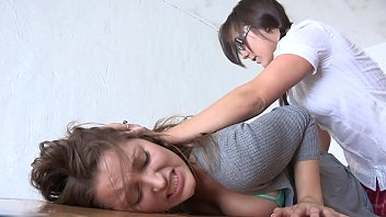Naughty Brunette Cutie  Dani Daniels Got Spanking Lesson In The Past She Request Be Allowed Toward Lick Sinn Sage's Cunt