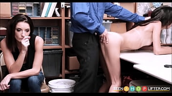 Skinny Latino Thief Fucked Along Fuck Cop In The Time Her M. Watches
