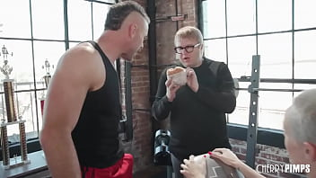 Sidra Sage Is Fuck Fit Blonde Who Can't Stand Her Wimpy Husband And Squirts Everything Settled Him! She Cucks Him Amidst Trainer Charles Dera And Sucks His Cock For Fuck Hot Wet Blowjob Former He Fucks Her Doggystyle.