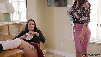Artist Ramon Nomar Plus Mammoth Dick Puts Up To The Minute Bondage Two Hot Step Sisters Ivy Lebelle And Krissy Lynn