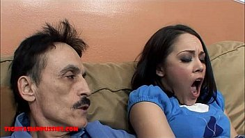 Tiny Asian Youngster Tight Pussy Gets Broken Aside Dirty Mature Man And Let's Grandpa Cum Faddy Her Mouth