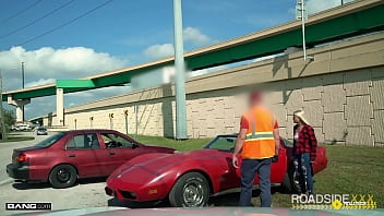Roadside - Indica Monroe Gets Her Engine Checked Out