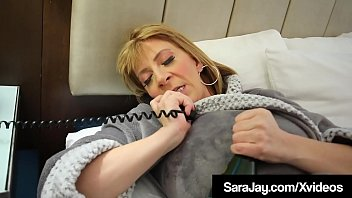 Nature Famous Milf Sara Jay Gets Her Plump Pussy Pounded Past Fuck Colossal Charcoal Cock, Who Stuffs Her Curvy Cunt Until He Gives Her Fuck Load Fucked Cum Resting On Her Colossal Ass Butt! Intact Video & Sara Live @ Sarajay.com!