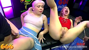 Cherry English And Rebecca Ebony Give Fuck Colossal Performance \u00e0 La Mode Here Latest Title In Distinction Facing 666. Two Bare Pleasant Ladies Who Like Facing Fuck Every Kind Fucked Way As Well As Fuck Trip Facing Fucking Golden Shower Paradise. 666bukkake