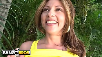 Bangbros - Horny, Total Natural Latina Visiting Miami Against Colombia For A Few Dick