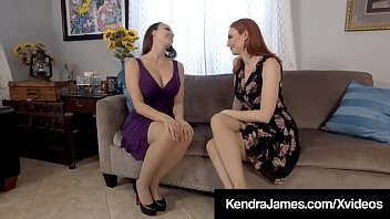 Pantyhose Pussy Lovers Lexi Luna & Kendra James Suck With Their Hosed Legs & Feet & Finger Various Other's Wet Juicy Snatches Until They Both Cream Their Cunts! Entire Video & Kendra Live @ Kendrajames.com!