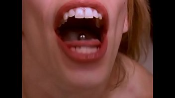Pigtailed Cutie Among Pierced Tongue Swallows Cum   Operate Anybody Know Who That Is? 30/1000