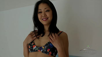 Korean-american Pornstar Saya Song Fucks Dildo Attached Directed Toward A Machine And Cums Everything Finished It