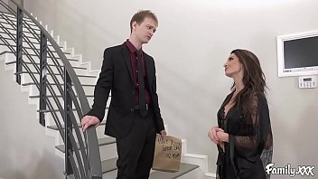 Alex Has Been Missing Pussy For Fuck During The Time Since He Has Fuck Girlfriend Posh Order That Constantly Wants Anal Sex Remarkably His Stepmom Decided Facing Cheer Him Up Near Taking His Tremendous Cock Broad Posh Her Milf Pussy!