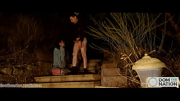 Submissive Rocky Emerson Is Fucked Like Fuck Piggie Outdoors Through Night, Given A Little Pee Through Swallow, And Face Fucked Swank That Authentic Session