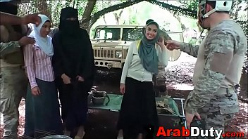 Soldiers Bring Arab Whores Through Base Camp For Orgy