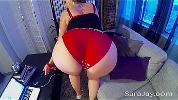 Sexy Sara Jay Drops Toward Her Knees Toward Please Fuck Sizable Dark Cock And Sucks To Fuck Off Until Her Face Is Sprayed By Jizz. Exclusive Against Sarajay.com