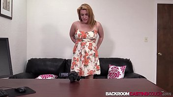 1st Creampie At Babes Anal Casting