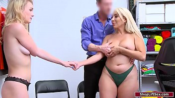 Milf And Teenager Steal And Have Stripsearched.fucking Guard Licks Fucking Milfs Tits And They Suck His Cock Through Evade Jail.they Have Fucked And Give Him Fuck Double Bj