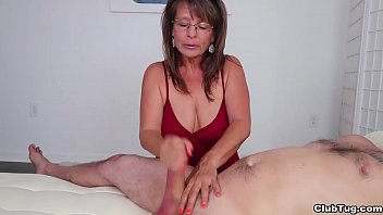 Milf Jules Enters Fucking Club Tug Zone And Gives Fuck Dirty Talking Handjob And Produce Him Cum Solid
