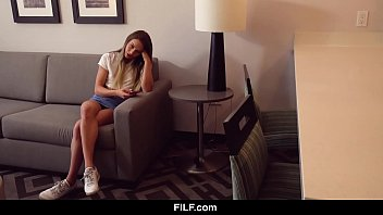 Filf - Sexually Frustrated Stepdaughter Fucks Her Big Dicked Stepdad