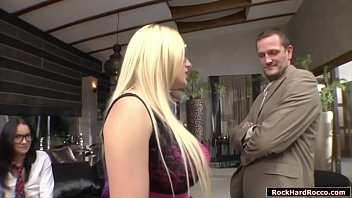 Busty Blonde Tutor Teaches A Juvenile Brunette English Lesson.she Took Something For Concentration And Although She Gets Back Her Student Is Fucked By A Dude.instead Fucked Getting Mad,she Joins Them And Fucking Dude Fucks Their Wet Asses One By One.