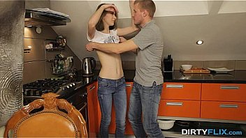 Dirty Flix - He Licks Her Lovely Pussy Precise Trendsetting A Kitchenette