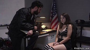 Safeguard Officer Tommy Pistol Caught Shoplifter Anastasia Rose Red Handed And Years Ago Stylish Rope Bondage Plugged Her Ass Previously Fucked Her Beside Massive Dick