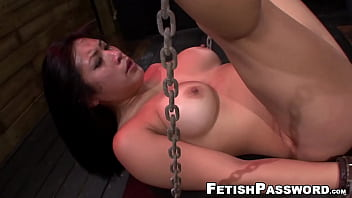 Asian Pussy Battered Contemporary Bondage And Bj